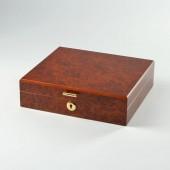 Basic Humidor Wurzelholz für 10 Zigarren