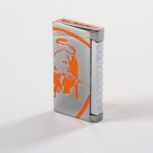 Tonino Lamborghini Il Toro Orange Torch Flame Lighter