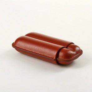Zigarren Etui Angelo Toro 2er braun