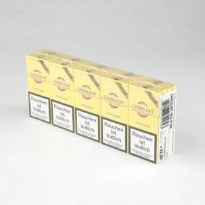 Candlelight Mini Cigarillo Gold Filter (10er Gebinde)