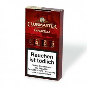 Clubmaster Panatella Red Tubes