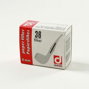 Denicotea Pfeifenfilter 6mm