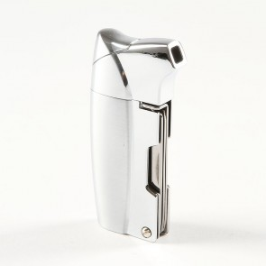 Eurojet Sky Pipe Lighter Silver