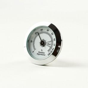 Haarhygrometer Silber
