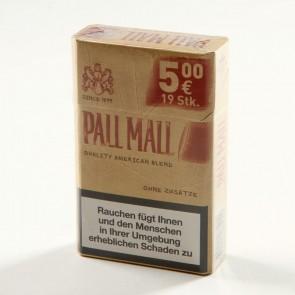 Pall Mall Red ohne Zusätze