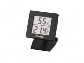 Passatore Digital Hygro-/Thermometer schwarz mit Fuß