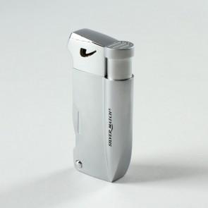 Silver Match Pfeifenfeuerzeug Piezo Bayswater chrom